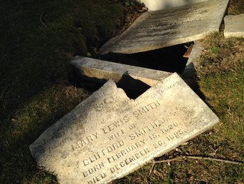 Thanatography Thursday Memorial:  Mary Lewis Smith (1820-1895)