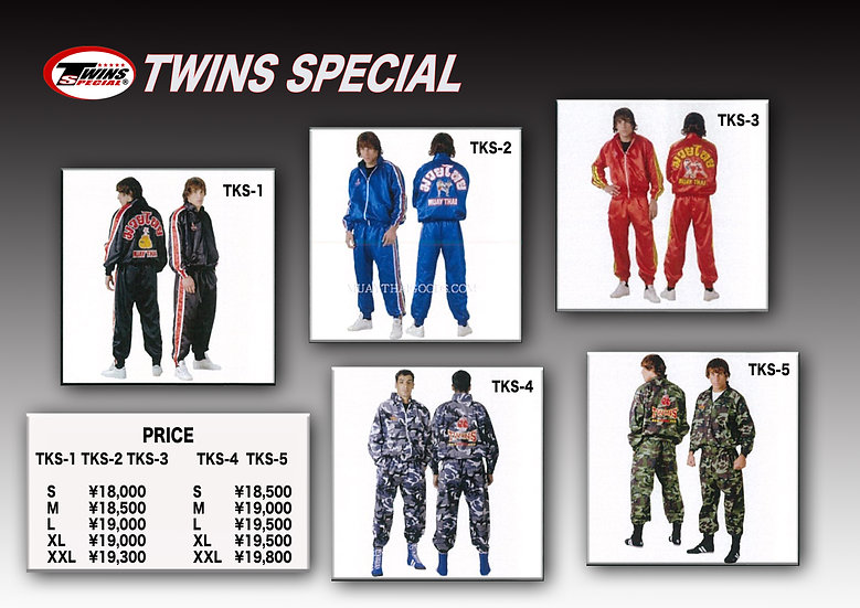 TWINS SPECIAL  TKSトラックスーツ