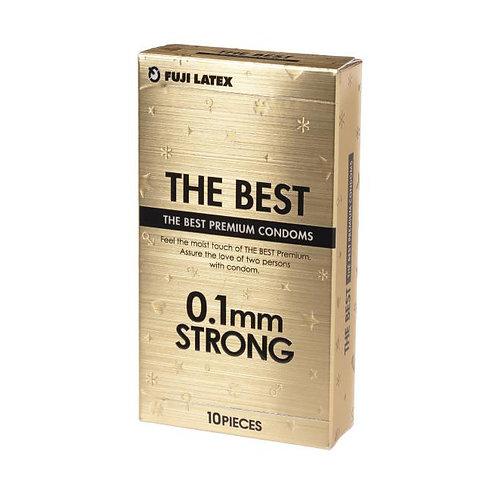 Fuji Latex: 0.1mm持久潤滑安全套 (10片裝)