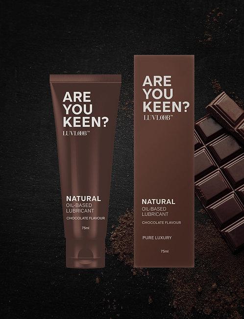 Luvloob: 天然防敏油性潤滑液 (巧克力味)