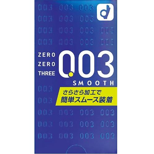 Okamoto日版岡本: 0.03柔滑安全套 (10片裝)