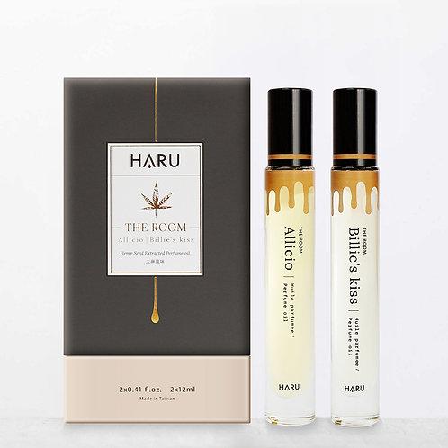 HARU: THE ROOM 大麻風味 雙瓶香水精油
