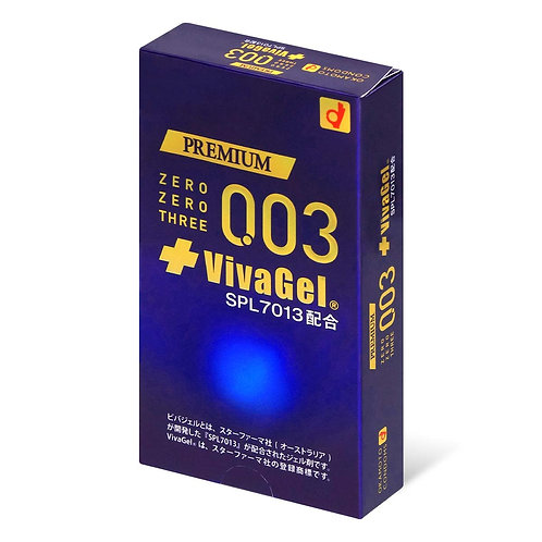 Okamoto日版岡本: 0.03 VivaGel 安全套 (10片裝)