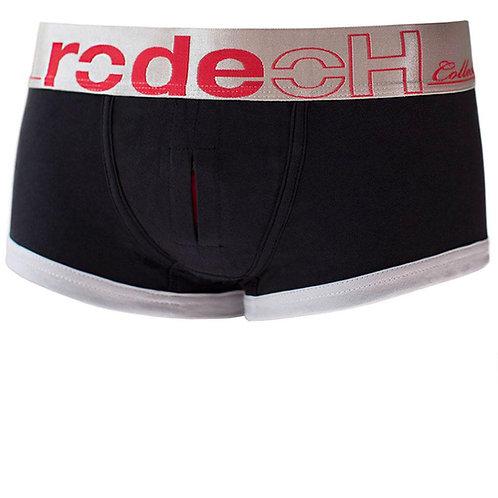 rodeoH: Hot Short 隱藏式低腰穿戴超熱褲 黑紅拼色