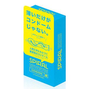 G Project: Spiral S 螺旋型安全套 (6片裝)