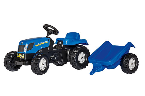 rollyKid New Holland TVT 190 Tractor and Trailer