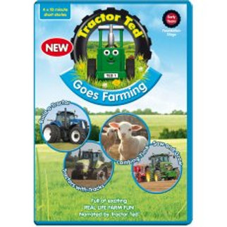 Tractor Ted DVD Tractor Ted Goes Farming