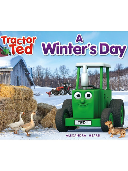 Tractor Ted Story Book A Winters Day