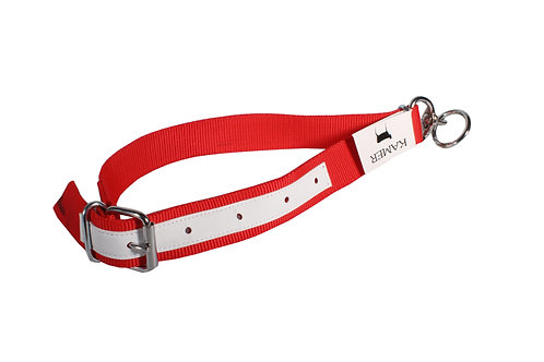 Calf Collar Red Nylon 0.8m