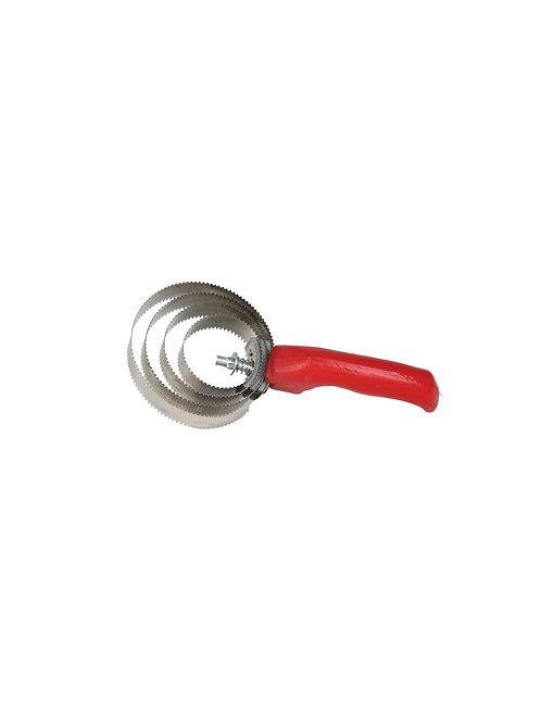 Circular Curry Comb