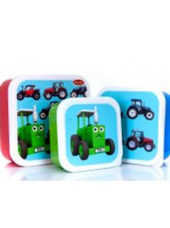 Tractor Ted Snack Pots