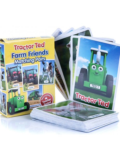 Tractor Ted Farm Pairs