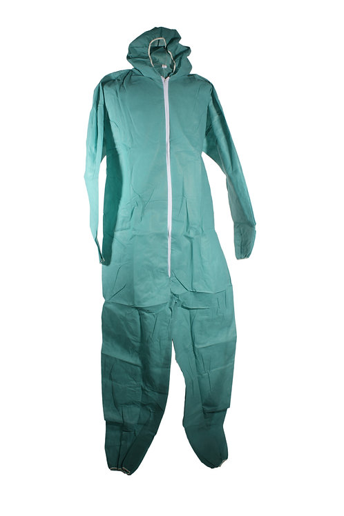 Disposable Boiler Suit Green