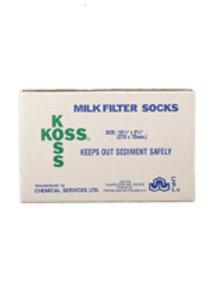 Koss Milk Filter Socks PK100