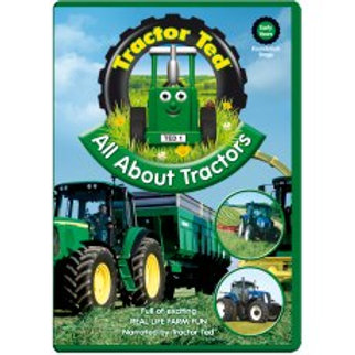 Tractor Ted DVD All About Tractors