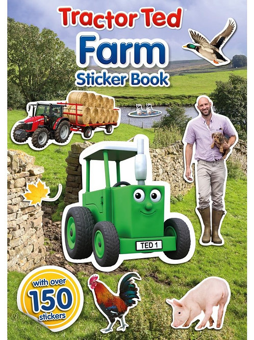 Tractor Ted Farm Sticker Book