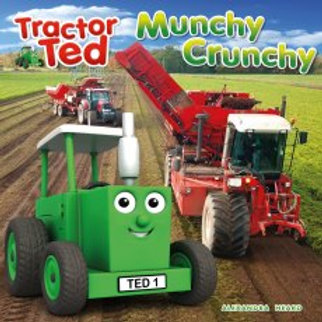 Tractor Ted Story Book Munchy Crunchy