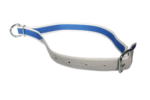 Cow Collar Blue and White Nylon 1.3m