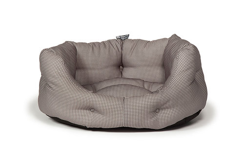 Vintage Dogstooth Deluxe Slumber Bed