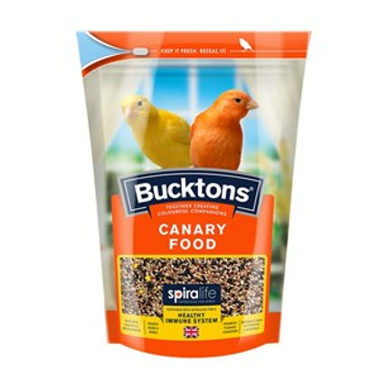 Bucktons Canary Food with Spiralife