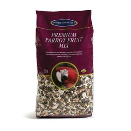Johnston & Jeff Premium Parrot Fruit Mix 12.75kg