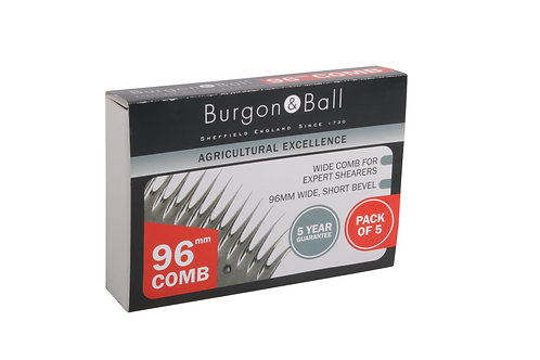 Burgon and Ball Shearing Comb 96mm PK5