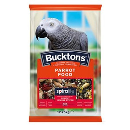 Bucktons Parrot Food with Spiralife 12.75kg