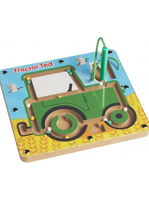 Tractor Ted Magnetic Maze