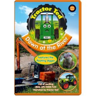 Tractor Ted DVD Down At The River