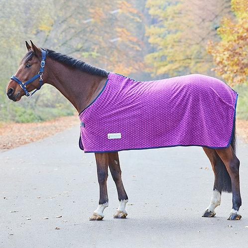 Unicorn Hearts Fleece Rug