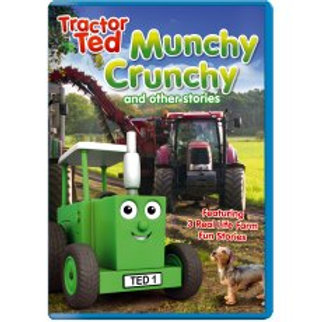 Tractor Ted DVD Munchy Crunchy and Other Stories