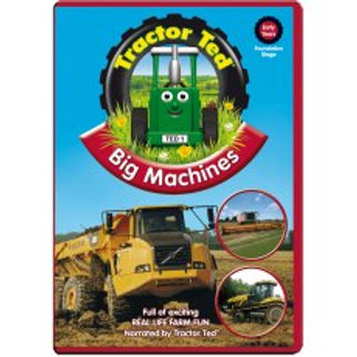 Tractor Ted DVD Big Machines