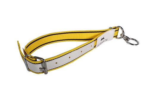 Calf Collar Yellow and Black Nylon 0.8m