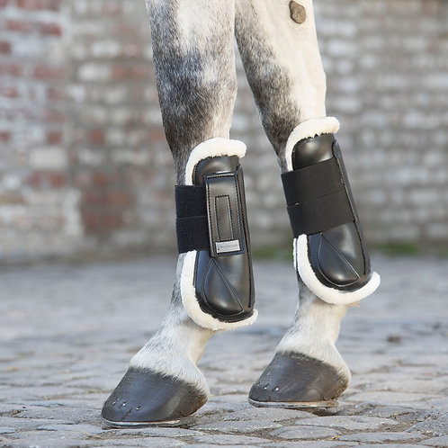 Synthetic Fur Tendon Boots