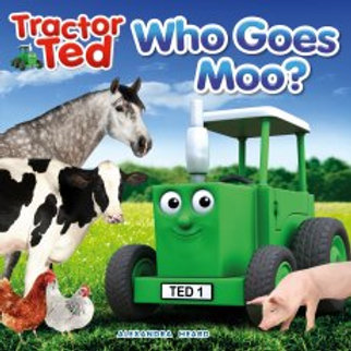 Tractor Ted Story Book Who Goes Moo?