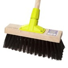 "Cottam Synthetic Yard Broom Head 12"""