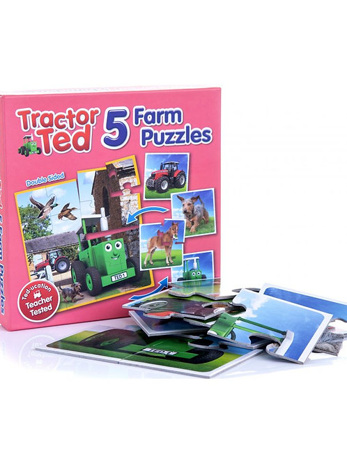 Tractor Ted 5 Farm Puzzles