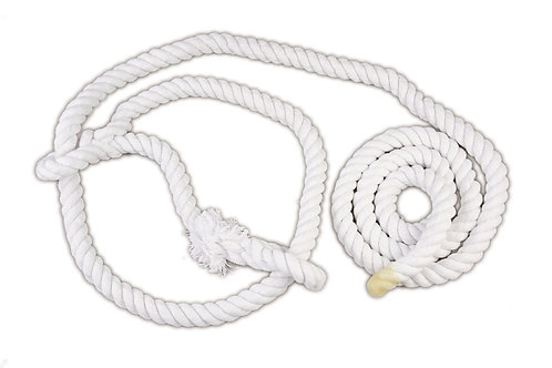 White Show Cotton Bull Halter