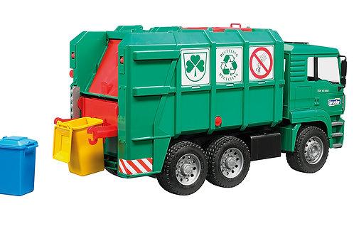 MAN TGA garbage truck (green)