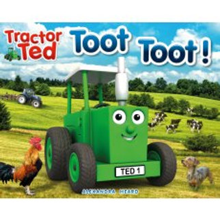 Tractor Ted Story Book Toot Toot