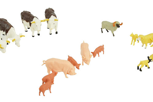 Mixed pack of Farm Animals