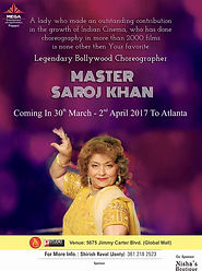 Saroj Khan Workshop in Atlanta