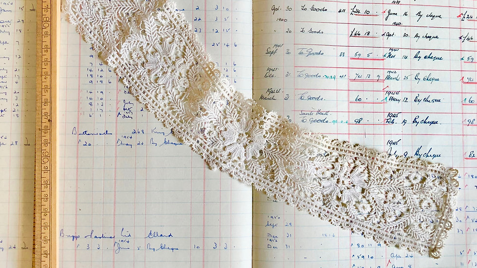 Beautiful Lace Collar Piece - Vintage but Great Condition