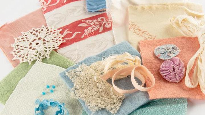 Textile Textures Vintage Inspiration Pack