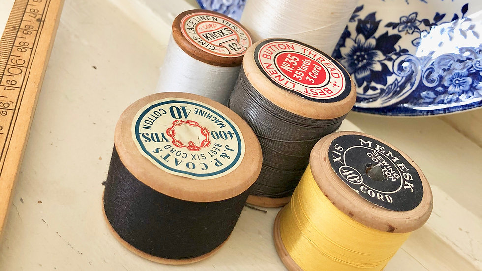 And another Collection of Vintage Wooden Cotton Reels