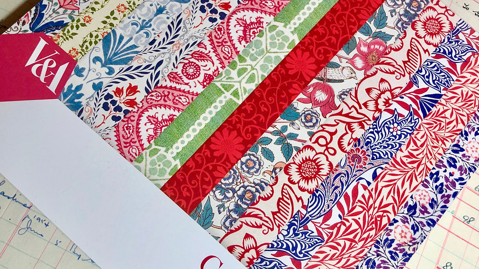 """V&A Craft Paper Pad - 8"""" x 8"""" - 36 Papers"""