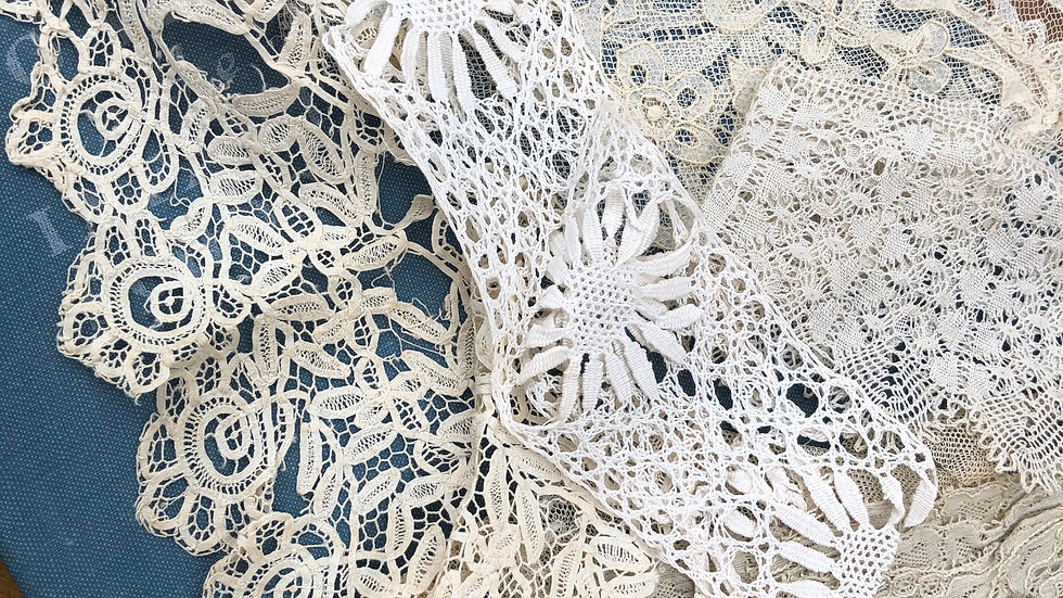 Mystery Selection of Beautiful Vintage and Antique Lace