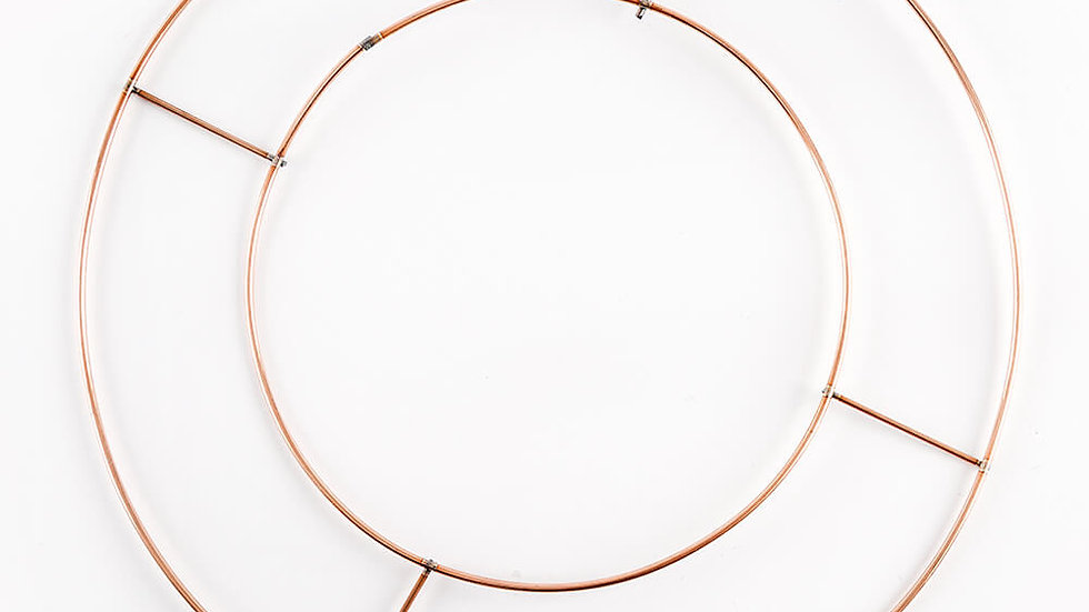 Wire Wreath Ring Bases - 2 sizes