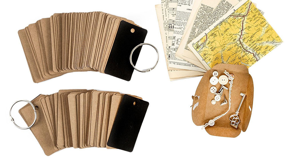 Simply Vintage Mini Journals and Vintage Mini Stash Pack