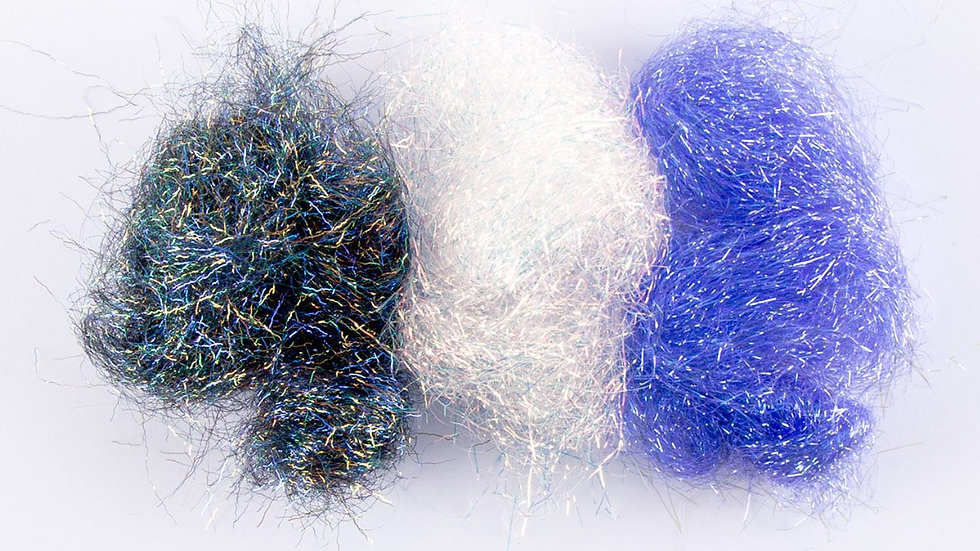 Choice of Three packs of Crystalina Fusible Fibres